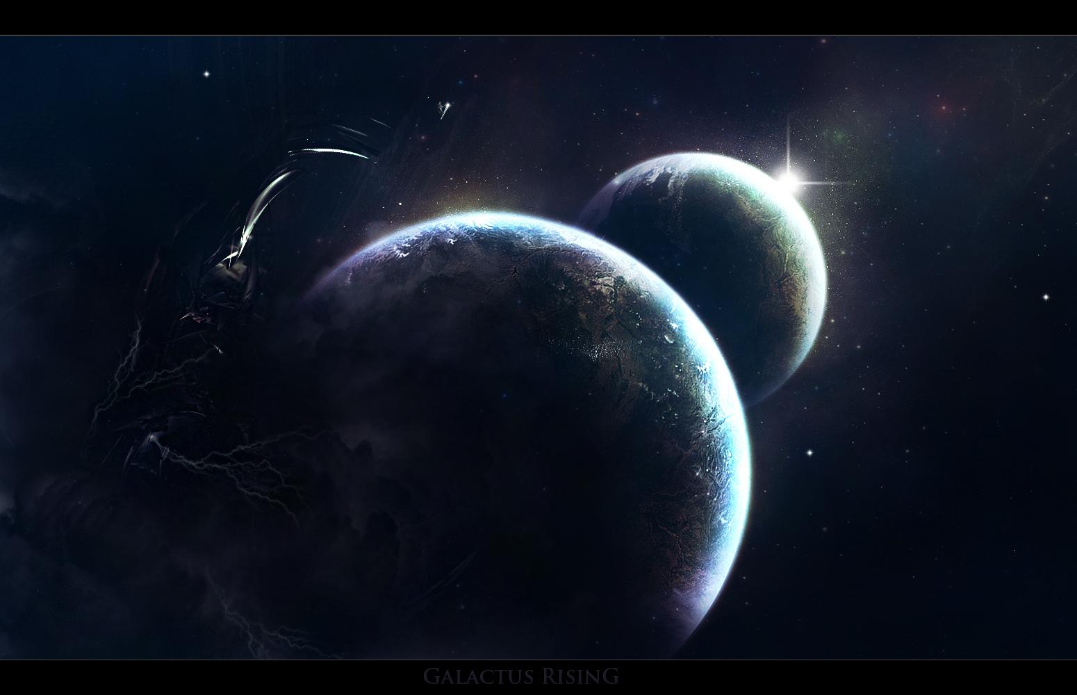 Galactus Rising By LoganGFX On DeviantArt