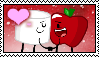 Apple x Marshmallow Stamp by Kaptain-Klovers