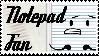 Notepad Fan
