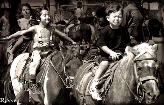Pony Ride by Ravven78
