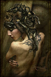 Medusa in the Boudoir by Ravven78