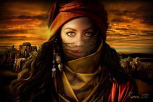 Desert Warrior by Ravven78