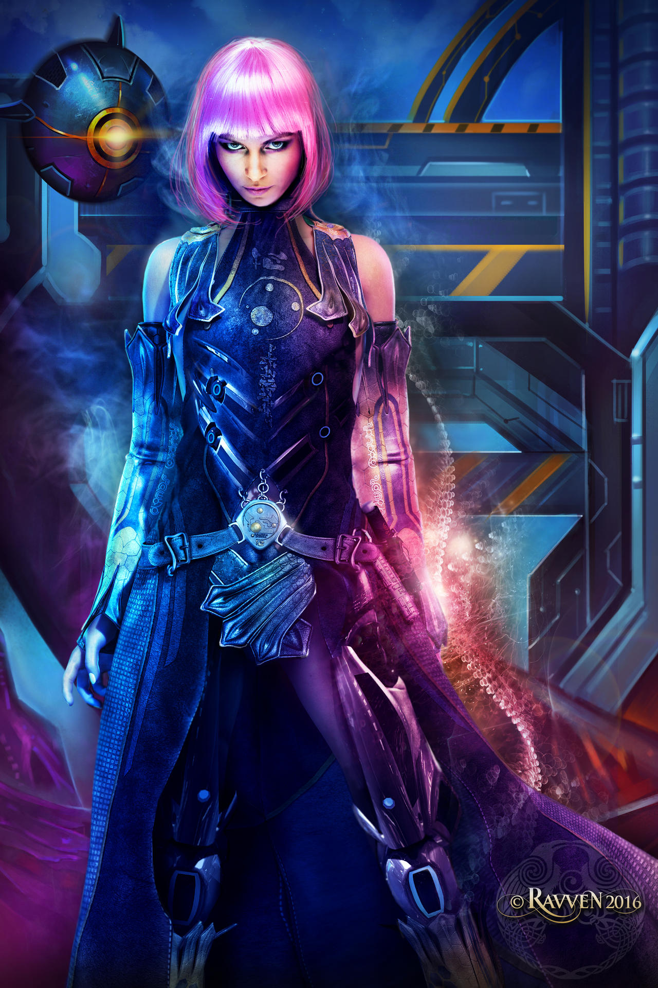 Space Princess by Ravven78