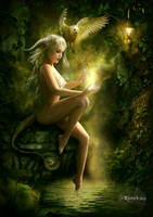 Forest Magic by Ravven78