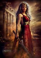 The Warrior Queen by Ravven78