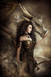 Dragon Speaker by Ravven78