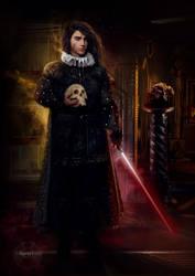 Renaissance Fanart Series: Kylo Ren as Hamlet