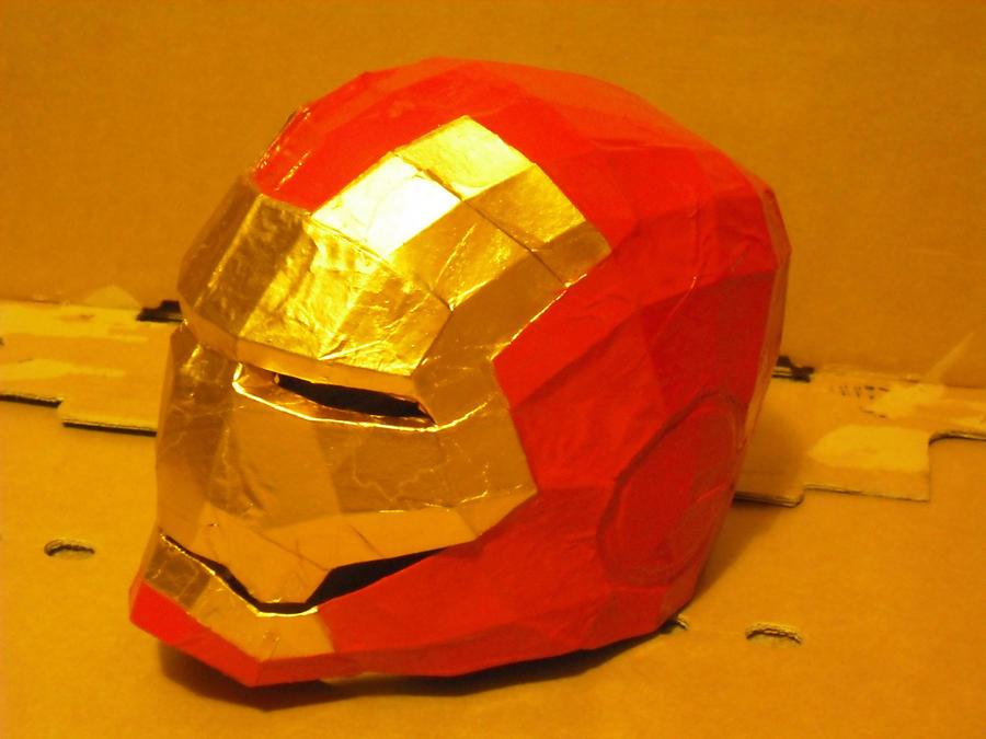 Iron Man Helmet By Spork1 On Deviantart