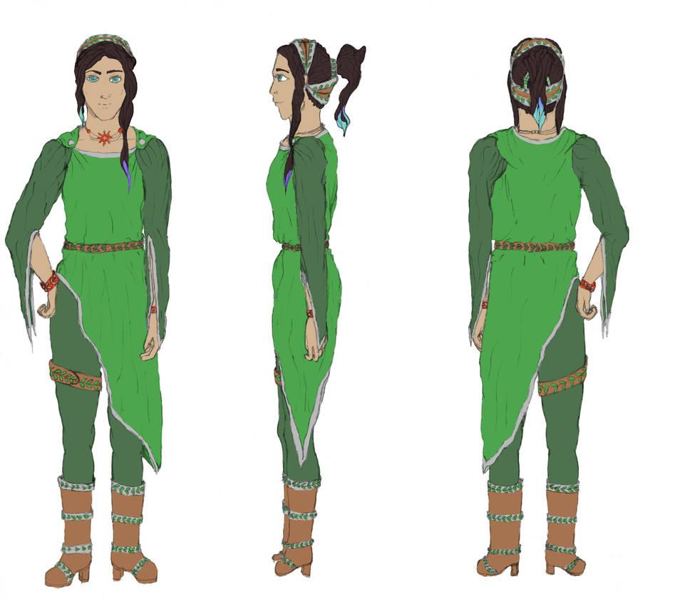 Character design new girl-mascot wwm