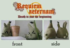 Requiem aeternam: Ghost plush toy: Root elemental