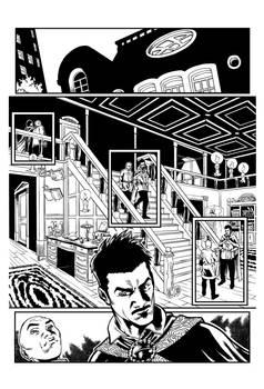 Dr Strange inks sample #1