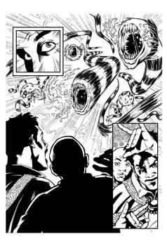 Dr Strange inks sample #2