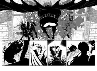 Batman Rebirth samples 3-4 by CanalesComics
