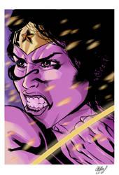 Wonder Woman fanart by CanalesComics