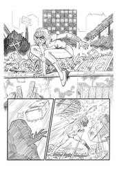 Miss Marvel sample #1 by CanalesComics