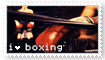 boxing stamp by Iighters