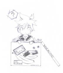 Free Sketches: Kagamine Len