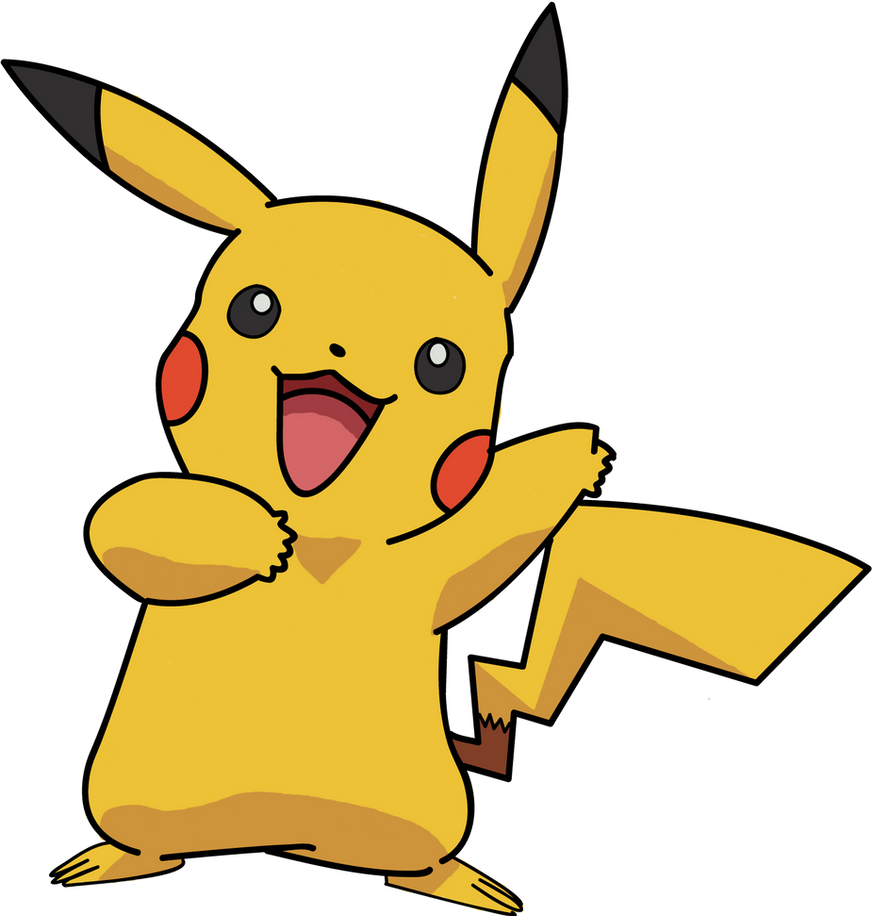 pikachu colored by puppet sasori on deviantart