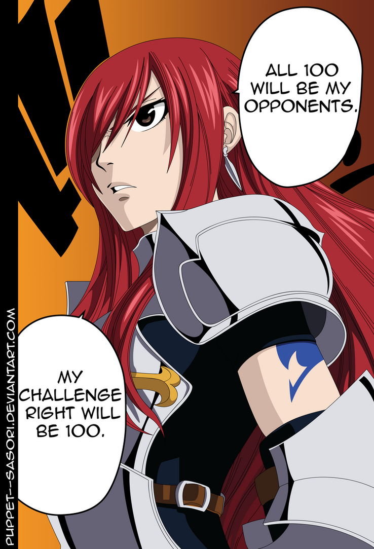 Erza Chapter 284 by Puppet--Sasori