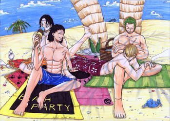 Summer Time with Gay Pirates by MichaelSilverleaf