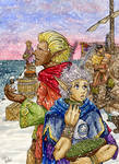 15th December - White Dock by MichaelSilverleaf
