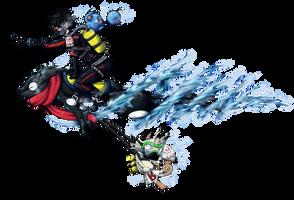 Pokemon Water Race Collab - Entry by MichaelSilverleaf