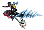Pokemon Water Race Collab - Entry