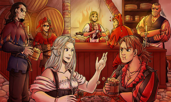 In the Tavern - Commission