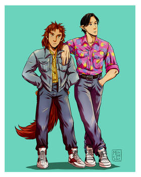 George x Kenneth - 80s Style