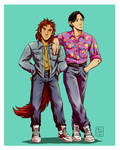 George x Kenneth - 80s Style by MichaelSilverleaf