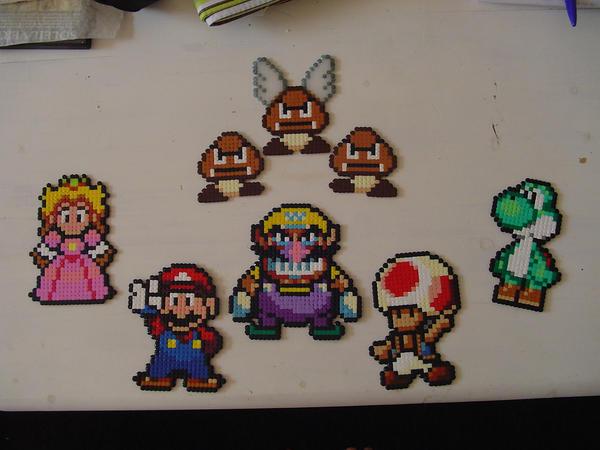 Mario - Hama Beads by acidezabs