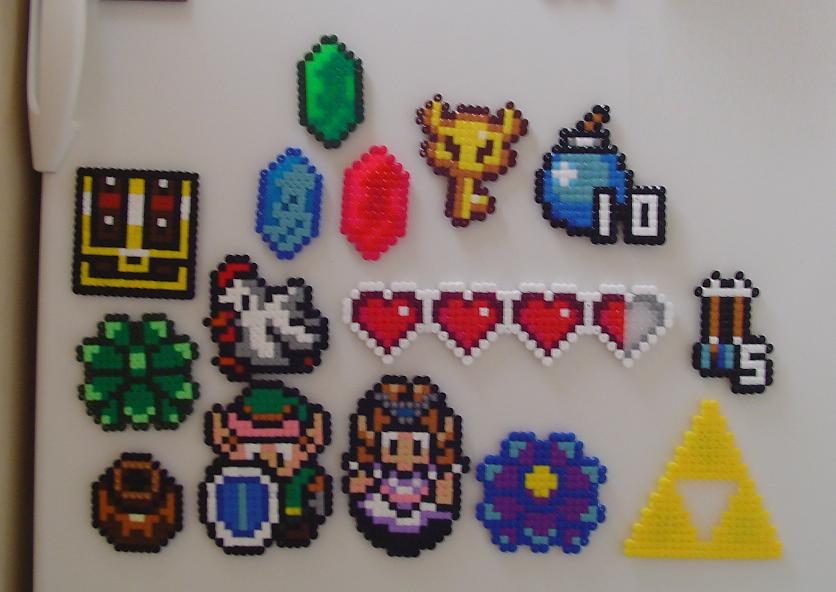 Mario Hama Mini Beads Designs