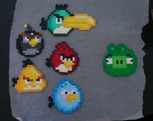 Angry Birds by acidezabs