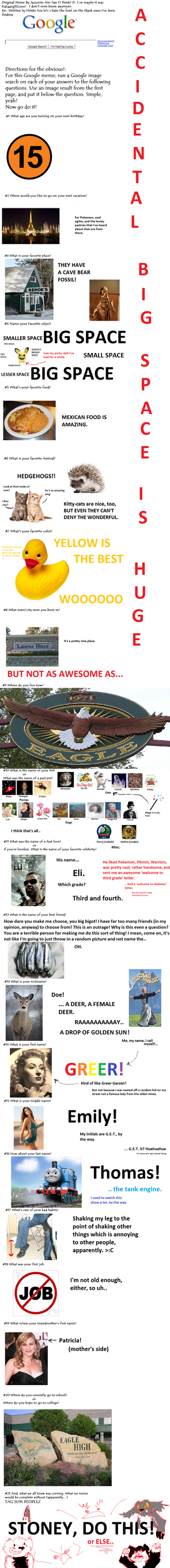 Google Meme! by Rapididous