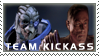 ME: Team Kickass Stamp by TigerBun