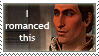 DA2: Sebastian Romance Stamp by TigerBun