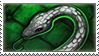Slytherin Stamp by TigerBun