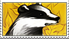 Hufflepuff Stamp by TigerBun