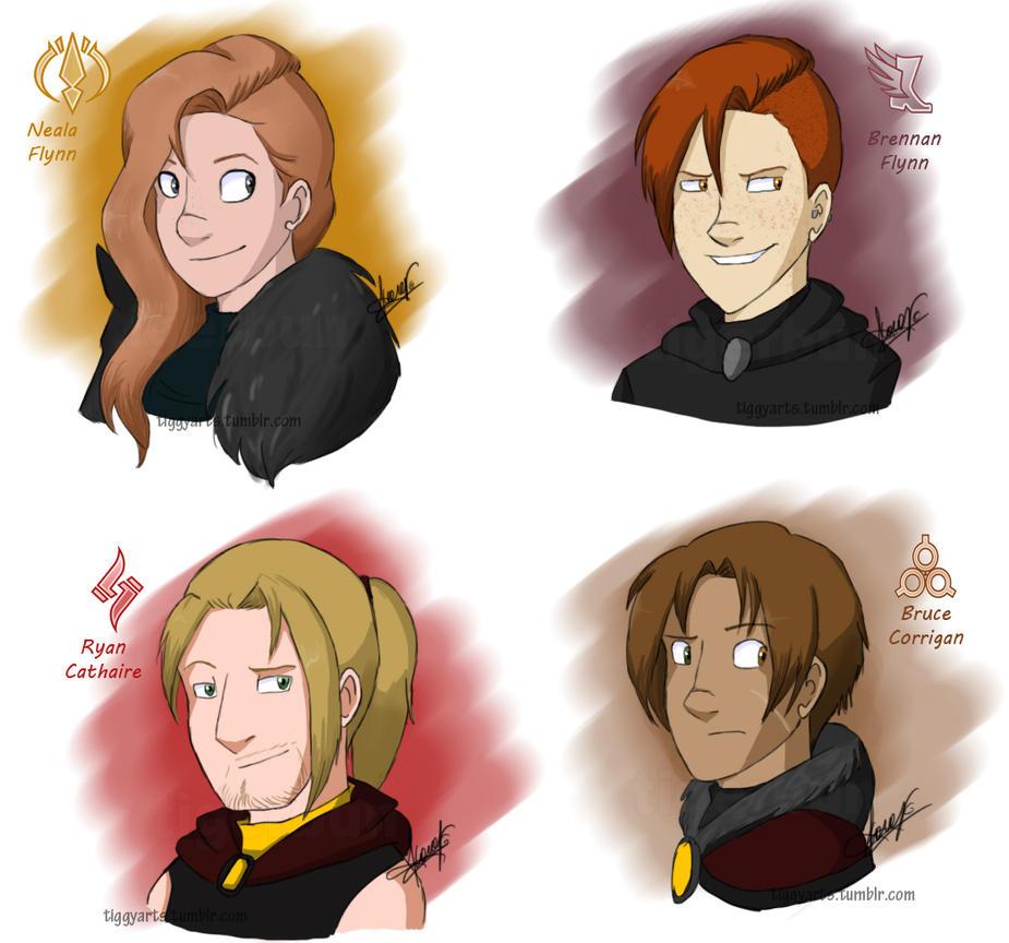 GW2: Squad by TigerBun