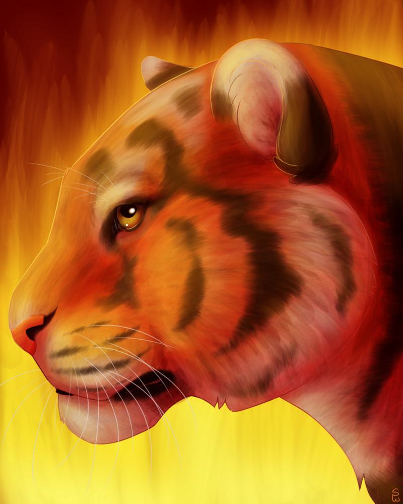 Like Fire by Sketchanie