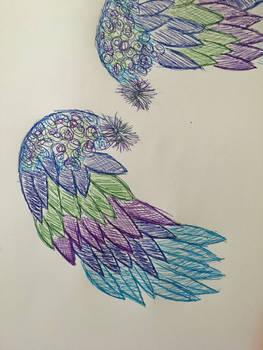 dumbass wing doodle