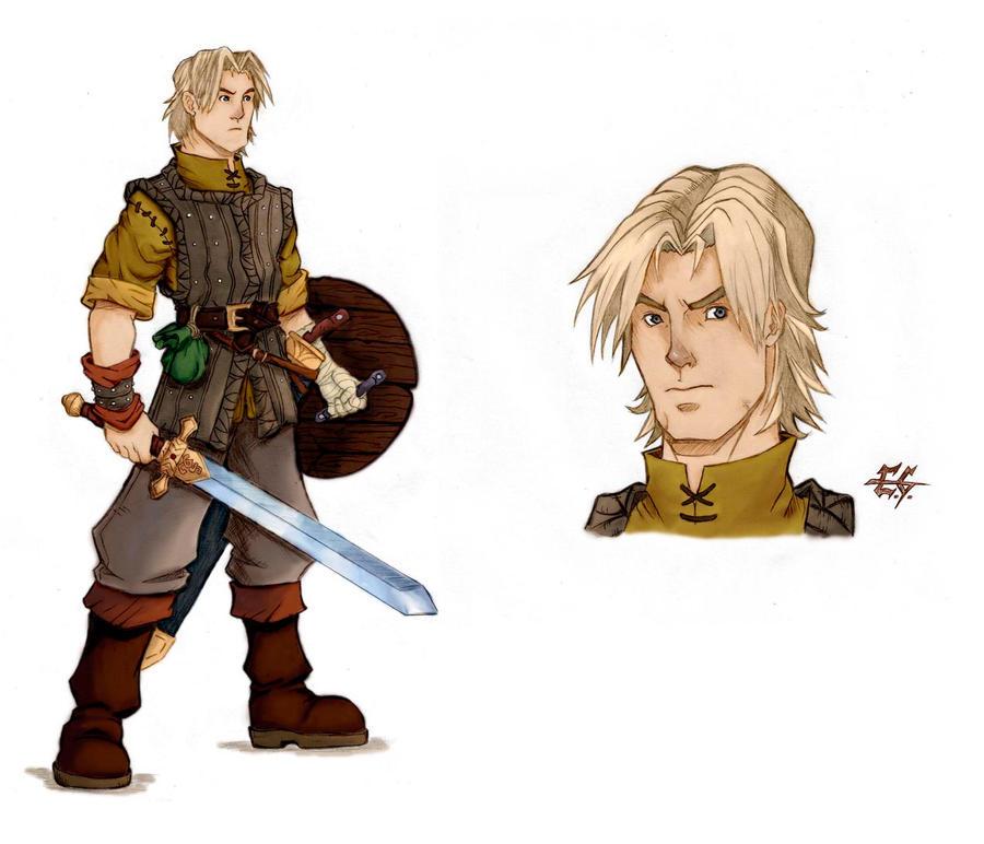 The hero by estevamgarcia