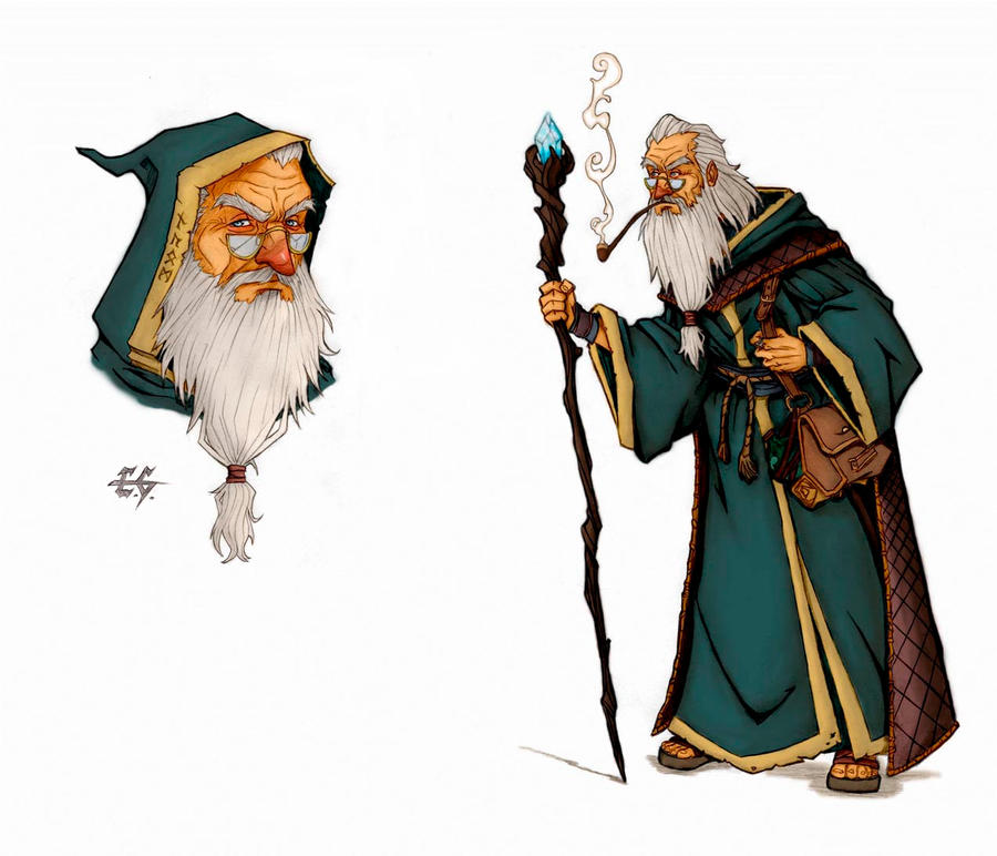 The Wizard by estevamgarcia