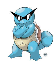 Squirtle - fanart