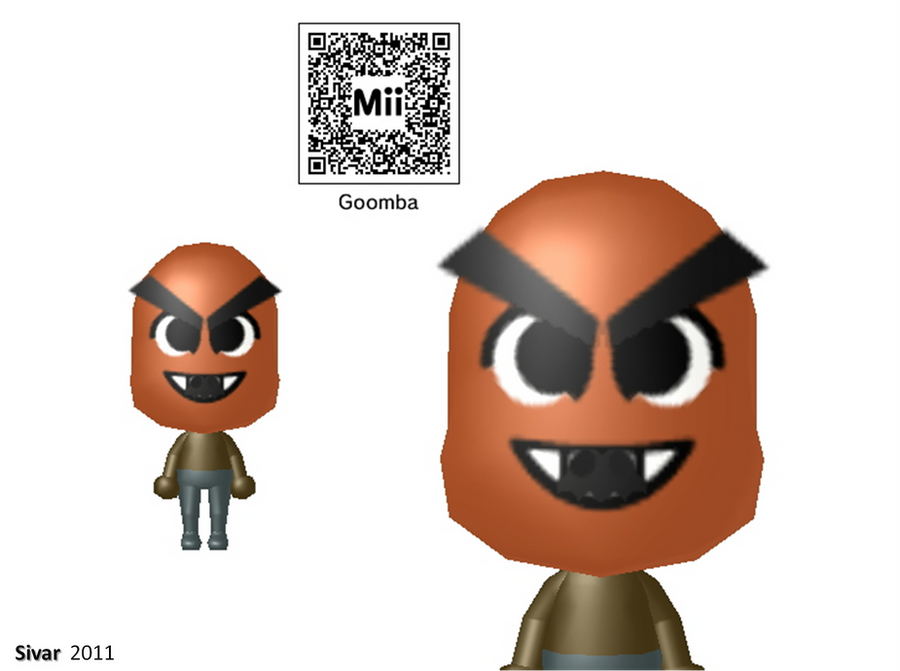 how to create a mii on 3ds