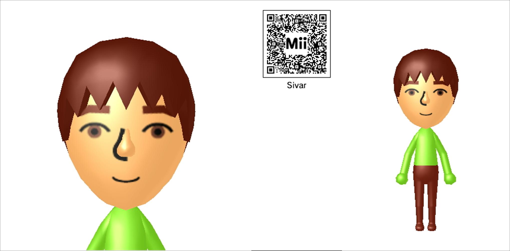Anime Mii Characters 3ds : Mii ds sivar by sintonio on deviantart