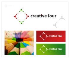 Creative four - logo by pek5