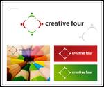 Creative four - logo