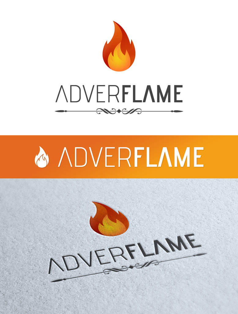 Adver Flame - logo by pek5