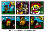 Blight the Clown Comic Strip 1